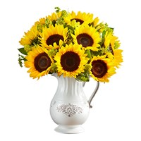 yellow-sunflower-in-a-reusable-pitcher