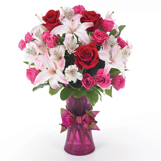 """You're in my Heart"" flower arrangements from Ingallina's Gifts, available for same day flower delivery"