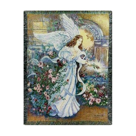 Angel_of_Love_Throw