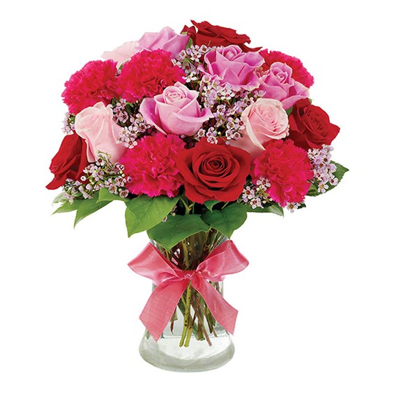 """Remarkable Roses Good Wishes"" flower bouquet for sale"