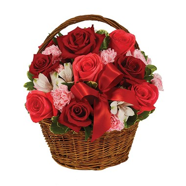 Valentine's Day Basket from Ingallina's online gift shop